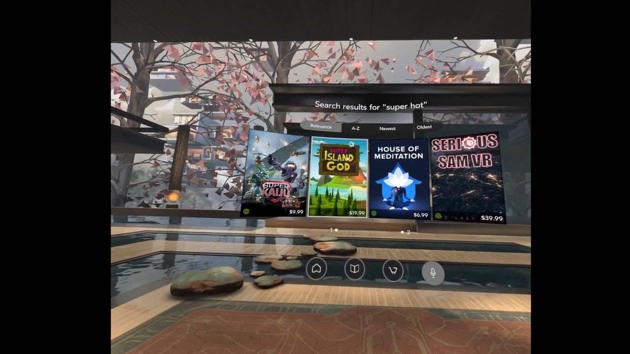Spracherkennung für Oculus Home - VRPlayground